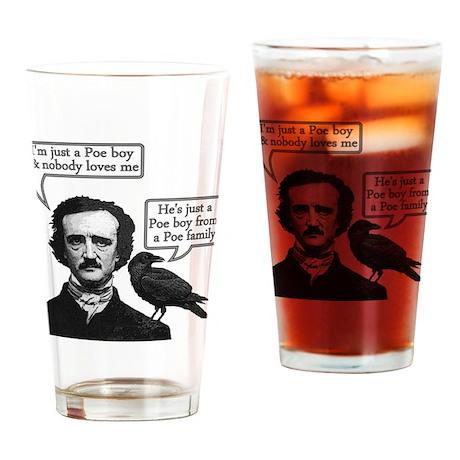Poe Boy II Drinking Glass