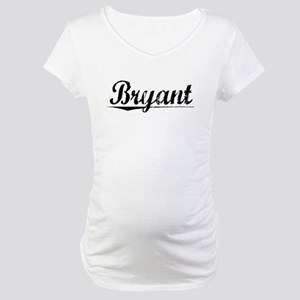 Bryant, Vintage Maternity T-Shirt