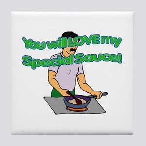 My Special Sauce Tile Coaster