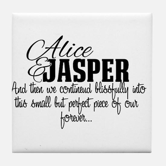 Cute Team jasper Tile Coaster