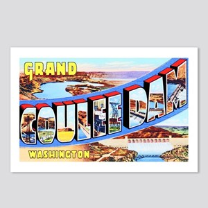 Grand Coulee Dam Washington Postcards (Package of