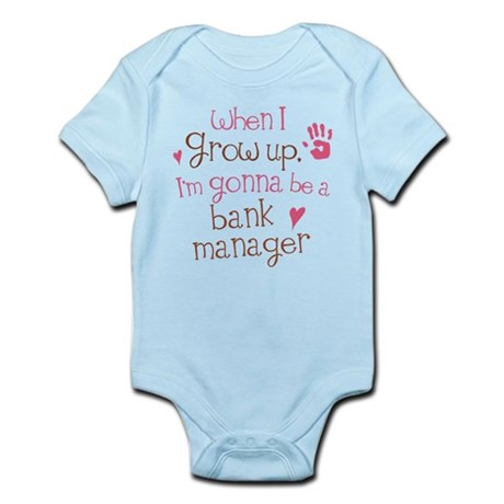 Future Bank Manager Infant Bodysuit