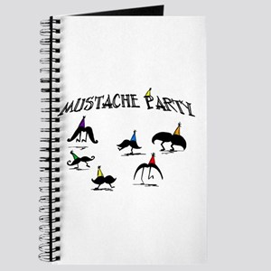 Mustache Party Journal