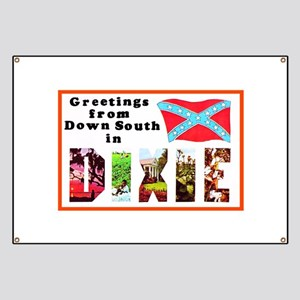 Dixie Southern Greetings Banner