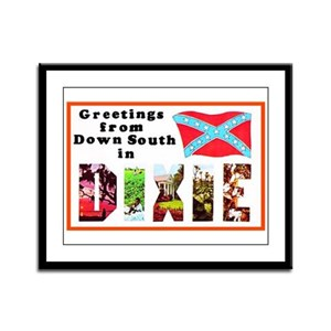 Dixie Southern Greetings Framed Panel Print