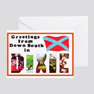 Dixie Southern Greetings Greeting Card