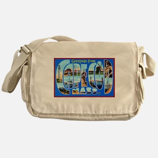 Cape Cod Massachusetts Messenger Bag