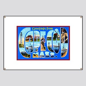 Cape Cod Massachusetts Banner