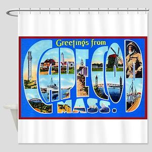 Cape Cod Massachusetts Shower Curtain