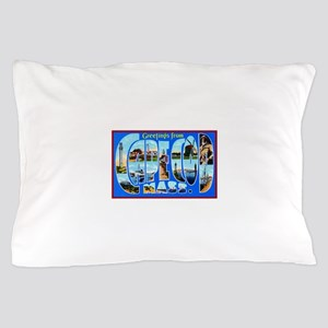 Cape Cod Massachusetts Pillow Case