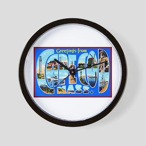 Cape Cod Massachusetts Wall Clock