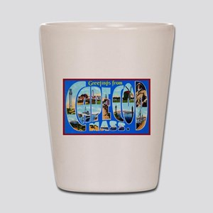 Cape Cod Massachusetts Shot Glass