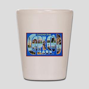 Cape Cod Massachusetts Shot Glass