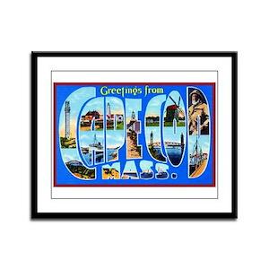 Cape Cod Massachusetts Framed Panel Print