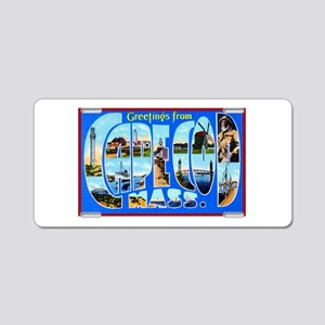 Cape Cod Massachusetts Aluminum License Plate