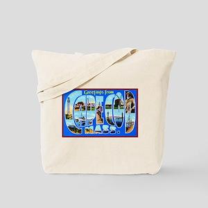 Cape Cod Massachusetts Tote Bag
