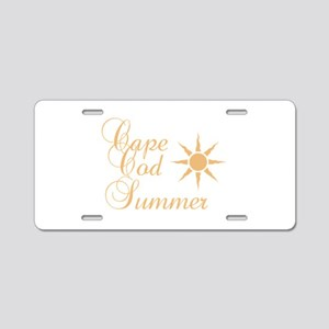 Cape Cod Summer Aluminum License Plate