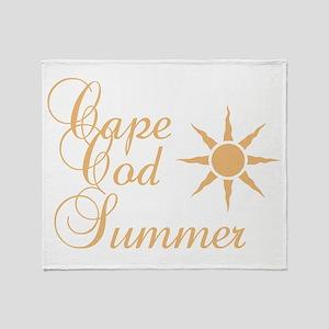 Cape Cod Summer Throw Blanket