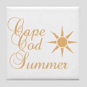Cape Cod Summer Tile Coaster