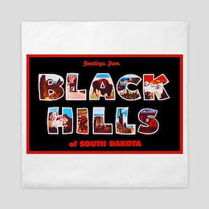 Black Hills South Dakota Queen Duvet