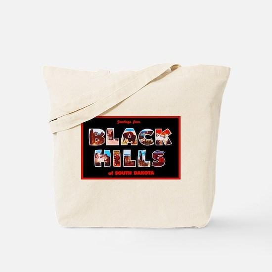 Black Hills South Dakota Tote Bag