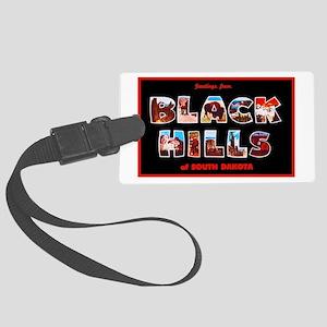 Black Hills South Dakota Large Luggage Tag