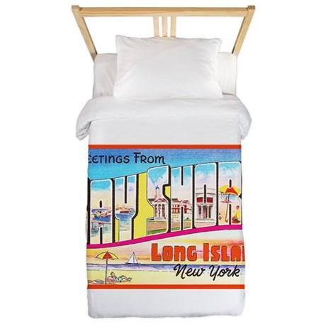 Bay Shore Long Island Twin Duvet