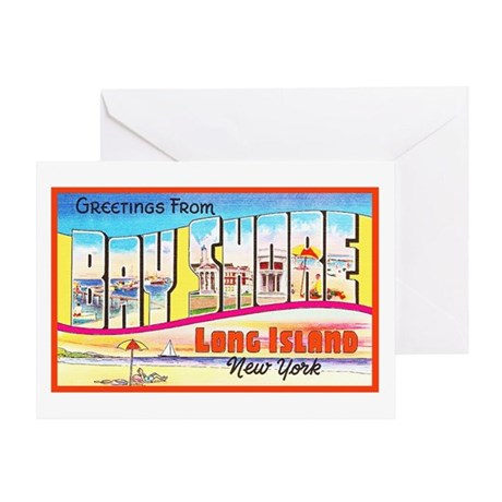 Bay Shore Long Island Greeting Card