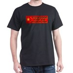 50,000+ Dogs Killed In China Black T-Shirt