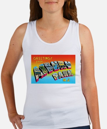 Asbury Park New Jersey Women's Tank Top