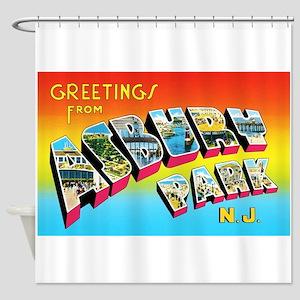 Asbury Park New Jersey Shower Curtain