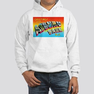 Asbury Park New Jersey Hooded Sweatshirt