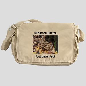 Food Under Foot Mushroom Hunter Hen Messenger Bag