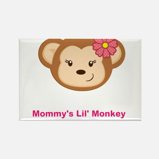 Lil Monkey Rectangle Magnet