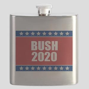 Bush 2020 Flask