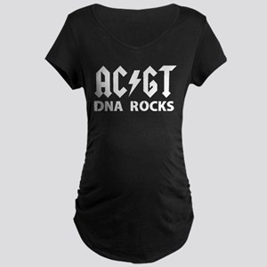 DNA rocks Maternity Dark T-Shirt