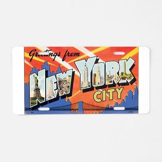 New York.jpg Aluminum License Plate