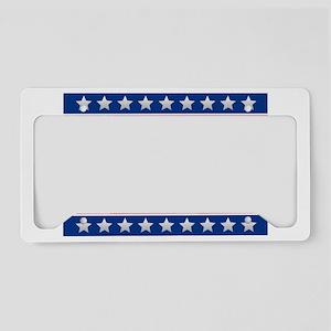 Bush 2020 License Plate Holder