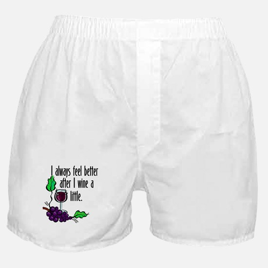I Whine & Wine Boxer Shorts