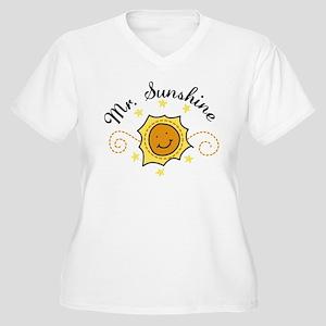 Mr. Sunshine Women's Plus Size V-Neck T-Shirt
