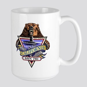 USS California SSN 781 Large Mug