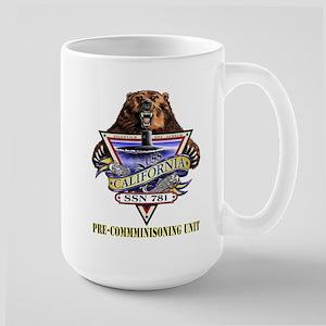 SSN 781 PCU Large Mug