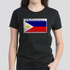 Philippines Filipino Flag Ash Grey T-Shirt