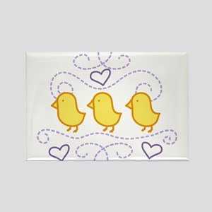 Chickens Rectangle Magnet