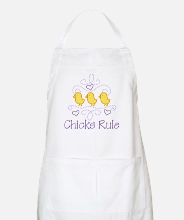 Chicks Rule Apron