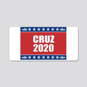 Cruz 2020 Aluminum License Plate