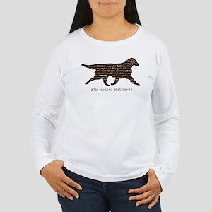 Flat-coated Retriever Women's Long Sleeve T-Shirt