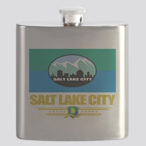 Salt Lake City (Flag 10) Flask