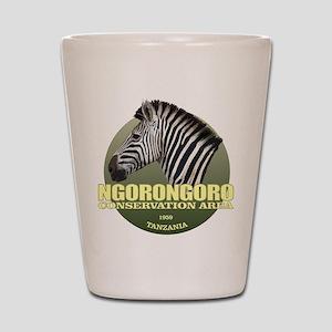 Ngorongoro CA Shot Glass