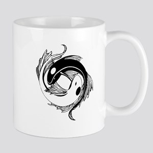 Tribal Yin Yang Fish Mug